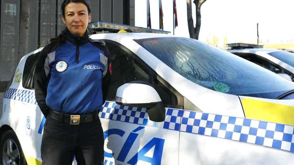 Marta Fernández, jefa de la Unidad de Apoyo y Protección a la Mujer de la Policía Municipal.