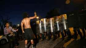 Las protestas sociales en Rio de Janeiro.