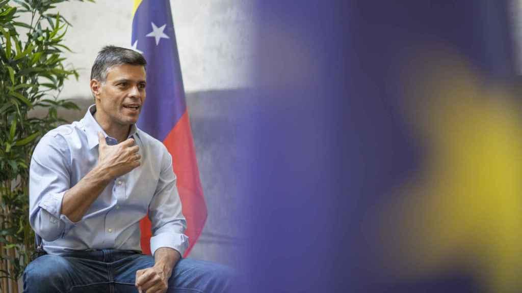 Leopoldo López, líder de la resistencia democrática en Venezuela, entrevistado por EL ESPAÑOL.