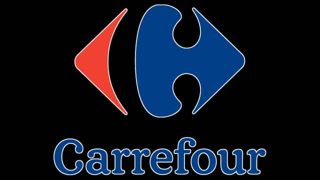 Logo de Carrefour por el Black Friday.