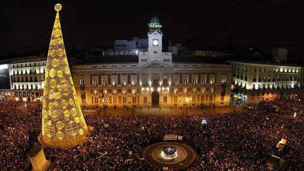 La Puerta del Sol, en una imagen de archivo.