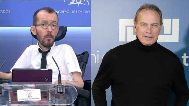 Echenique y Bertín en un fotomontaje.