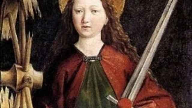 Santa Catalina de Alejandría.