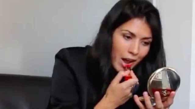 La diputada Naiara Davó en su vídeo de Twitter.