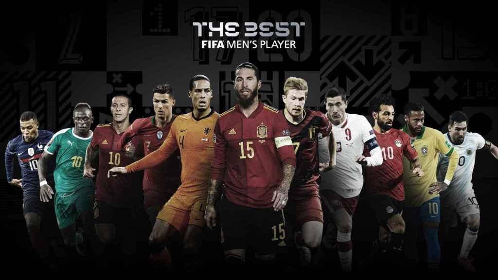 Los nominados al premio 'The Best' 2020