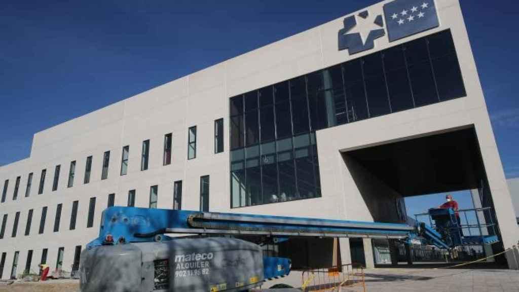 El Hospital Isabel Zendal que se inaugurará el próximo 1 de diciembre. Efe