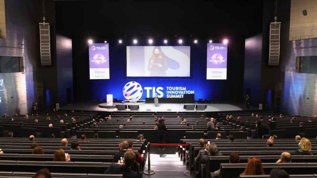 Acto de inauguración del congreso Tourism Innovation Summit (TIS 2020) en Sevilla.