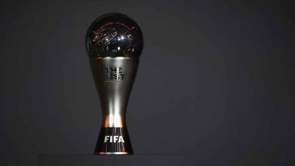 El trofeo The Best de FIFA. Foto: fifa.com