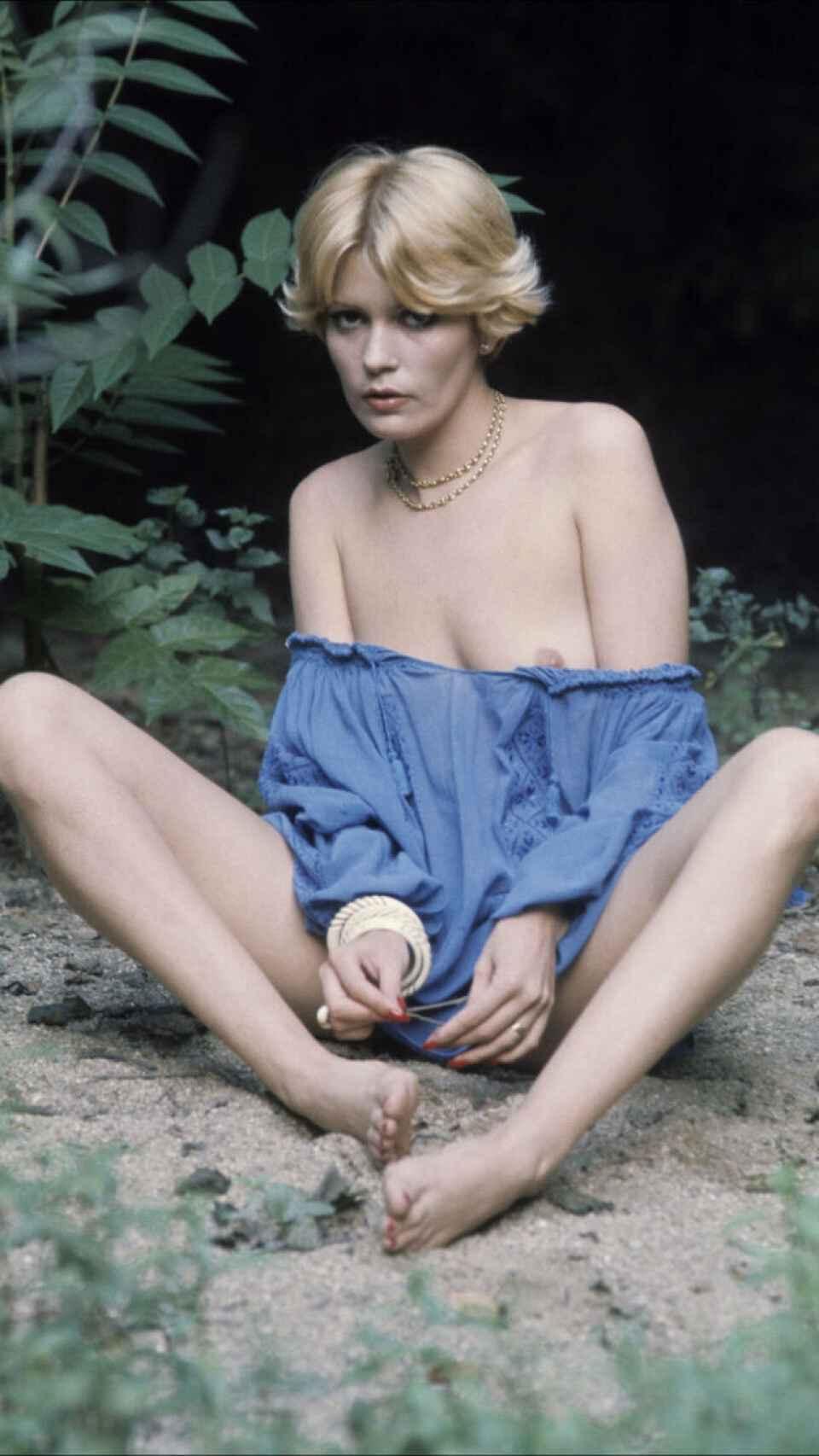 Bárbara en una imagen de 1970.
