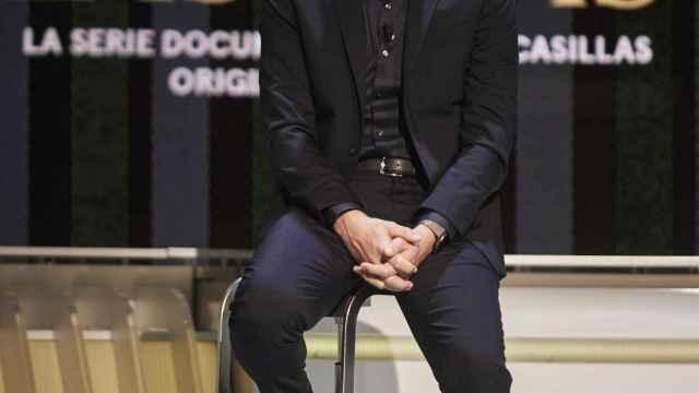 Iker Casillas, en la presentación de 'Colgar las Alas'