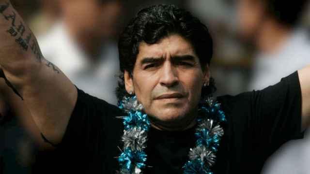 Diego Armando Maradona, en una imagen de archivo.