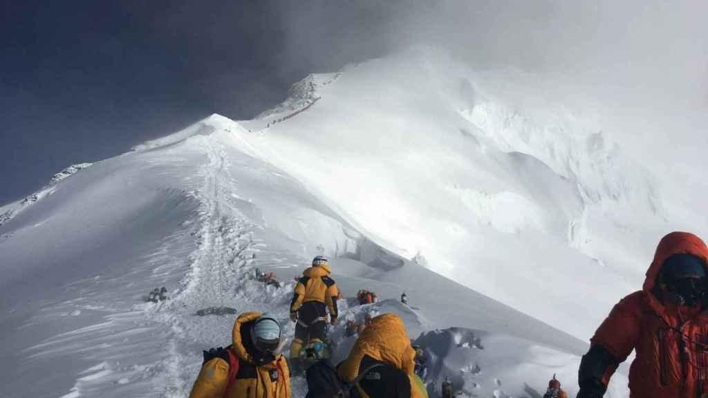 Una expedición a la caza del Everest