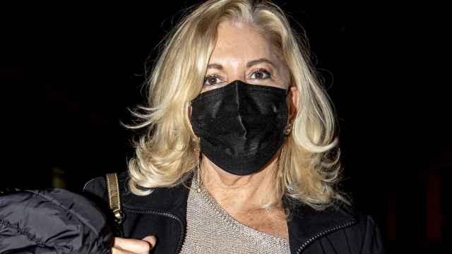 Bárbara Rey en una imagen reciente por las calles de Madrid.