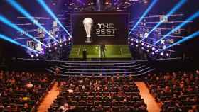 La gala del premio The Best en su edición de 2019