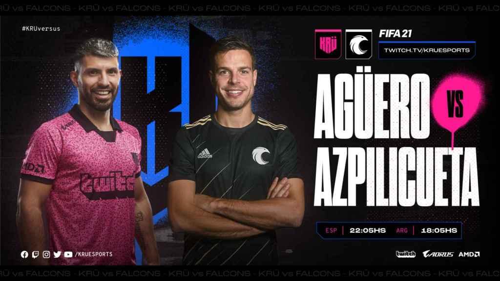 Agüero vs. Azpilicueta, en el debut de KRÜ