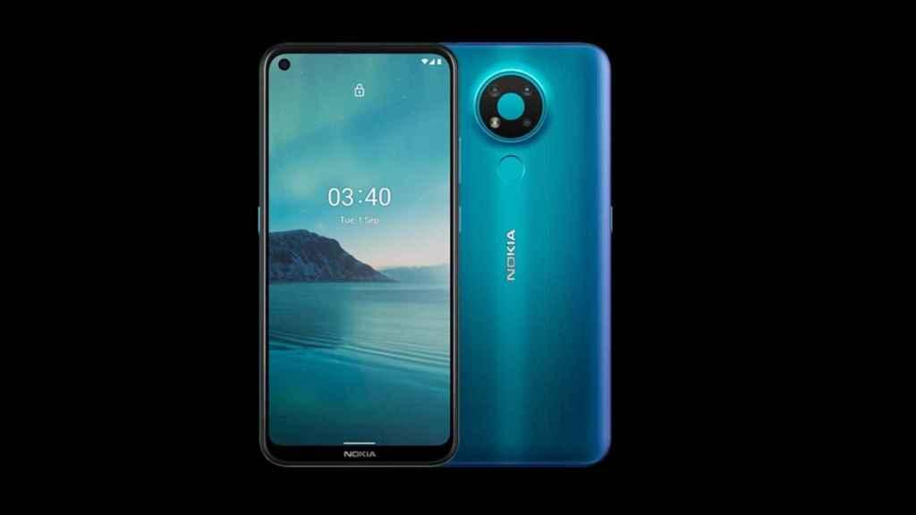 Nokia 3.4 diseño