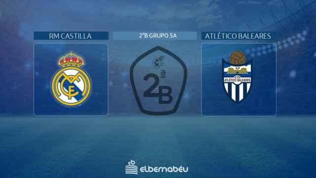 Real Madrid Castilla - Atlético Baleares