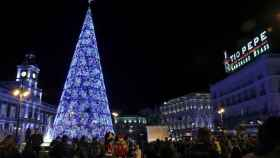 Puerta del Sol de Madrid las pasadas Navidades. Efe