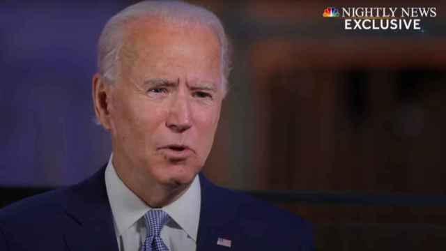 Joe Biden, presidente electo de Estados Unidos, entrevistado en la NBC.