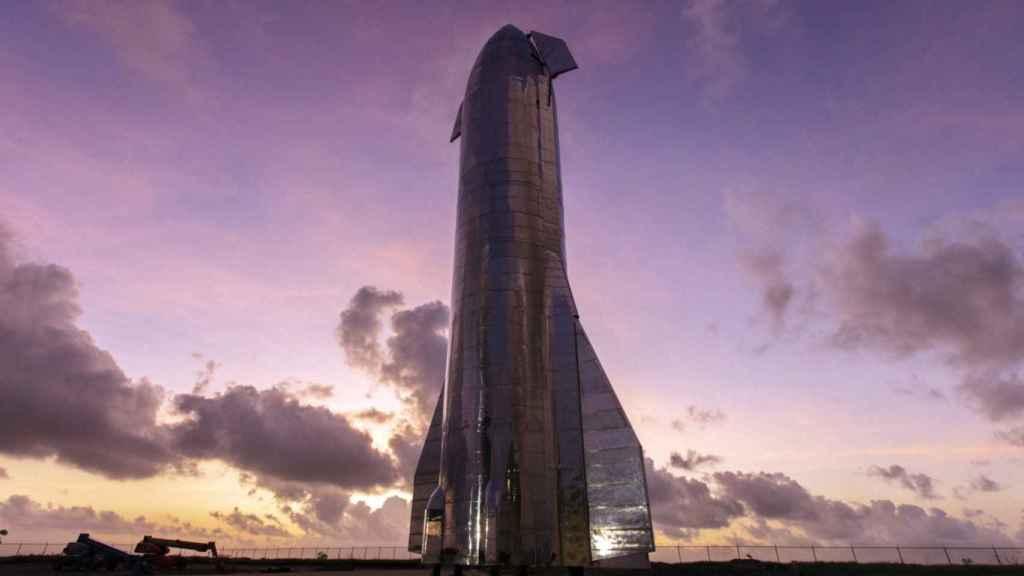 Prototipo de Starship de SpaceX