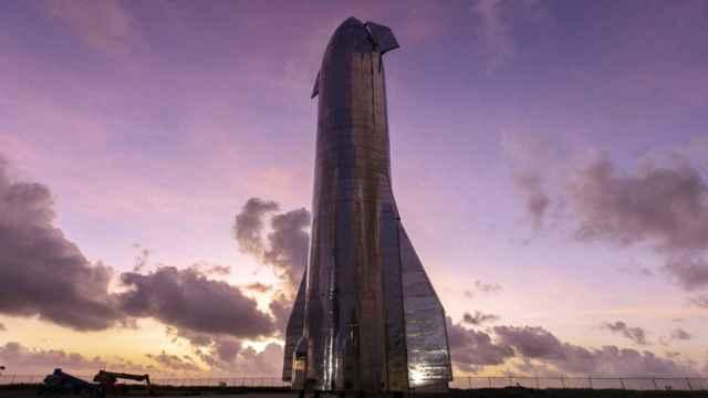 El prototipo de Starship SN8