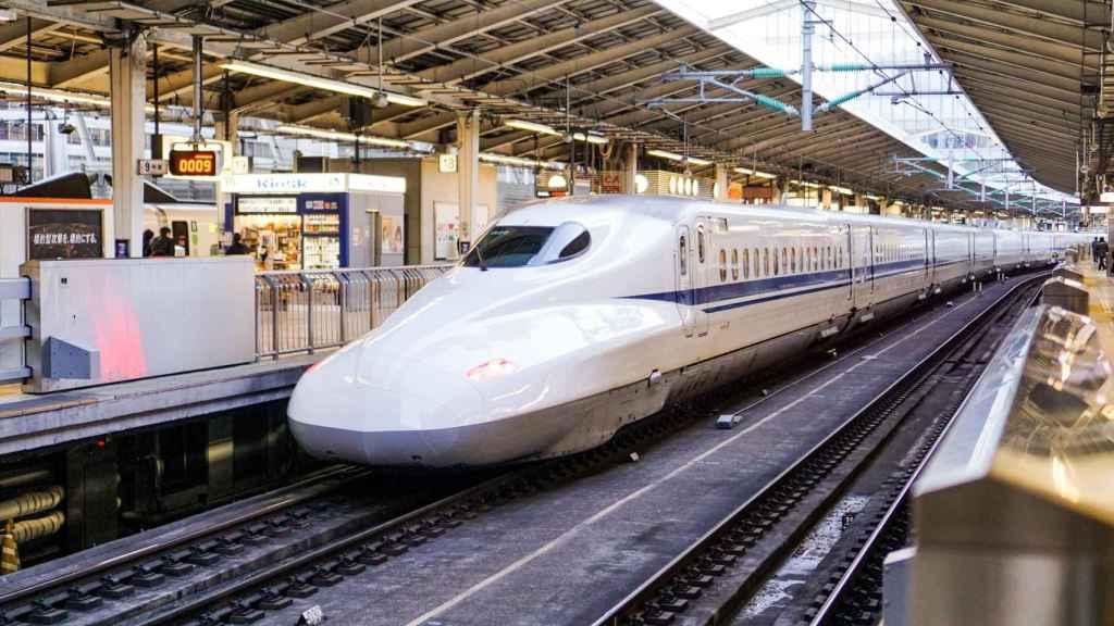 Tren alta velocidad en Japón
