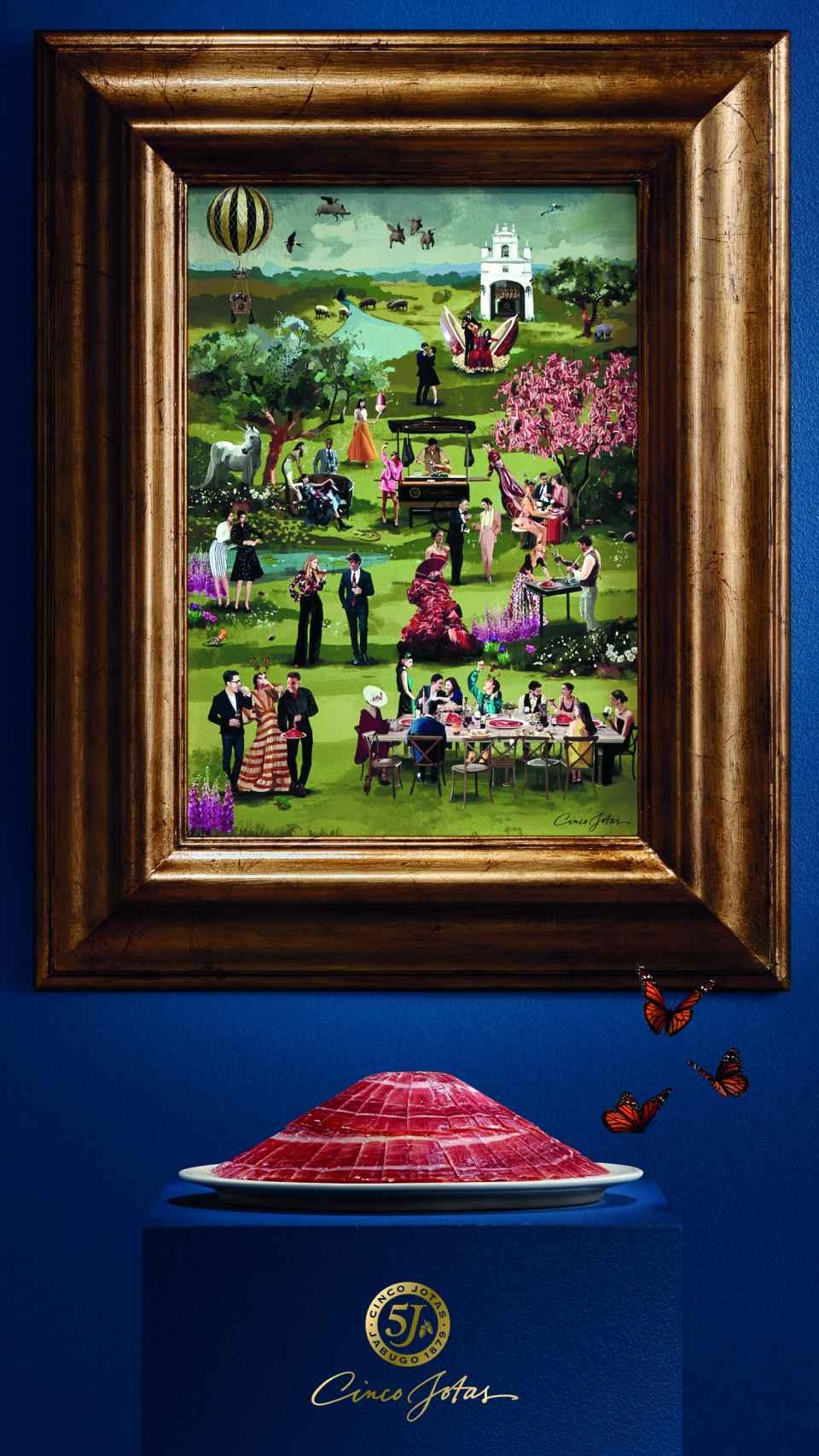 El jardín del Edén Cinco Jotas, obra de Tito Merello