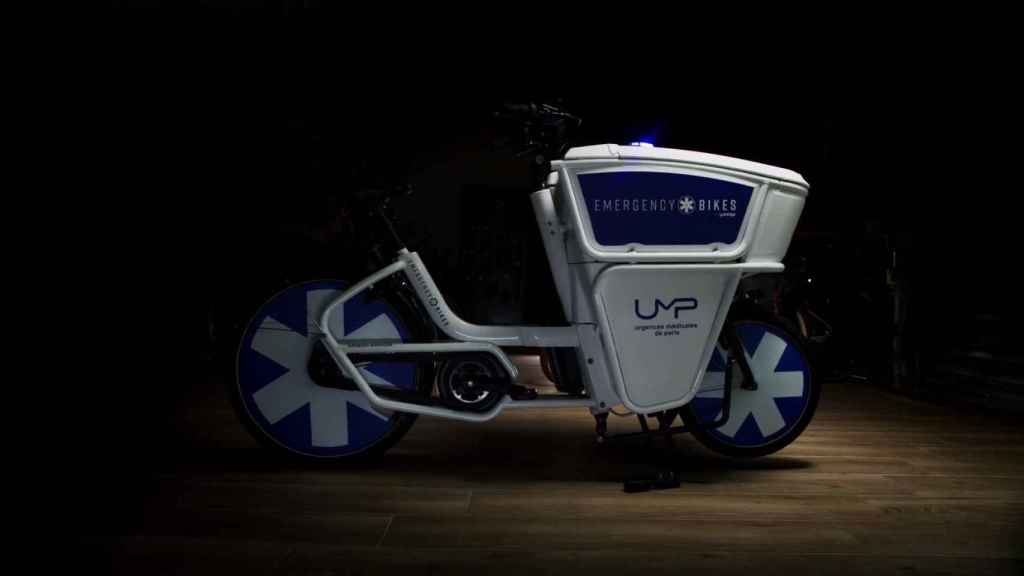 Bicicleta ambulancia