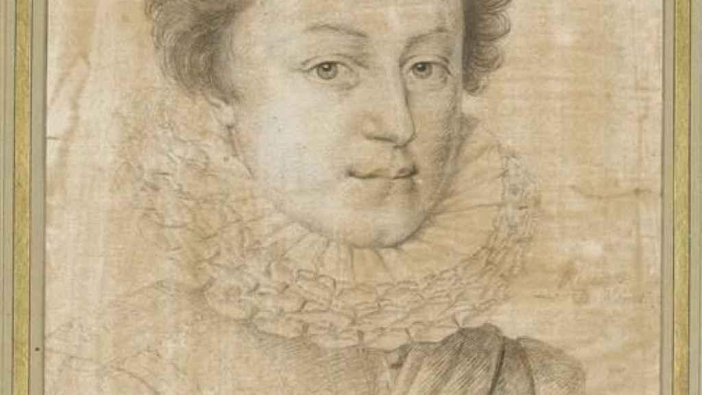 Retrato de César de Borbón en su juventud.