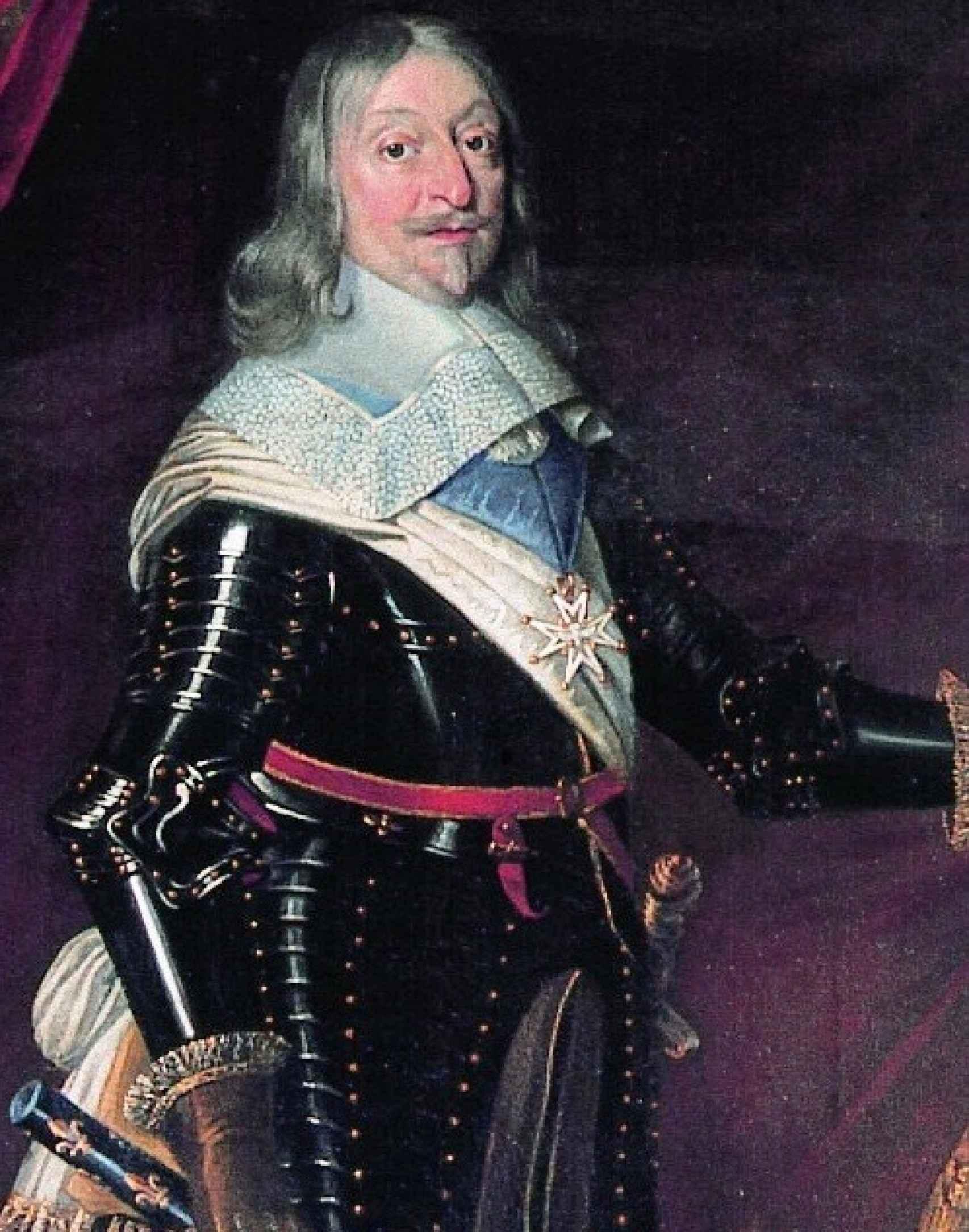 Retrato de César de Borbón.