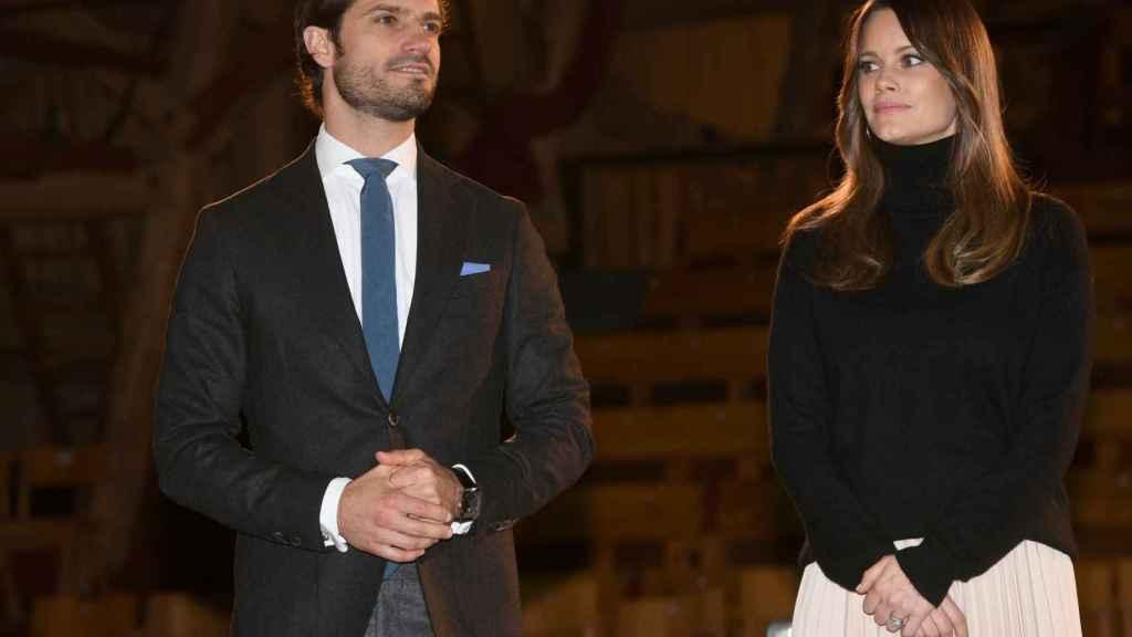 Carlos Felipe y Sofía de Suecia, durante su último acto público, el pasado mes de octubre.