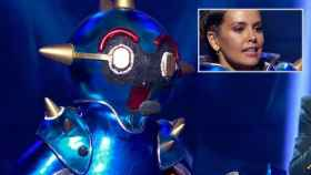 Cristina Pedroche es Robot en 'Mask Singer'.