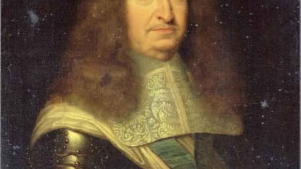 Retrato de César de Borbón, duque de Vendôme.