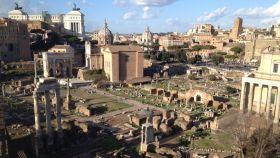 Vista del Foro romano.
