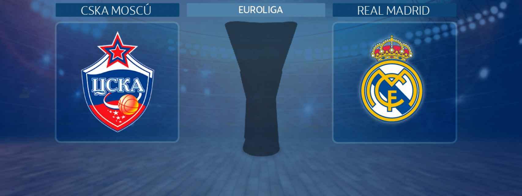 CSKA Moscú - Real Madrid, partido de la Euroliga
