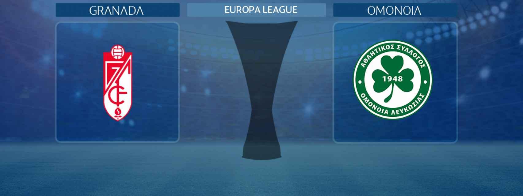 Granada - Omonoia, partido de la Europa League