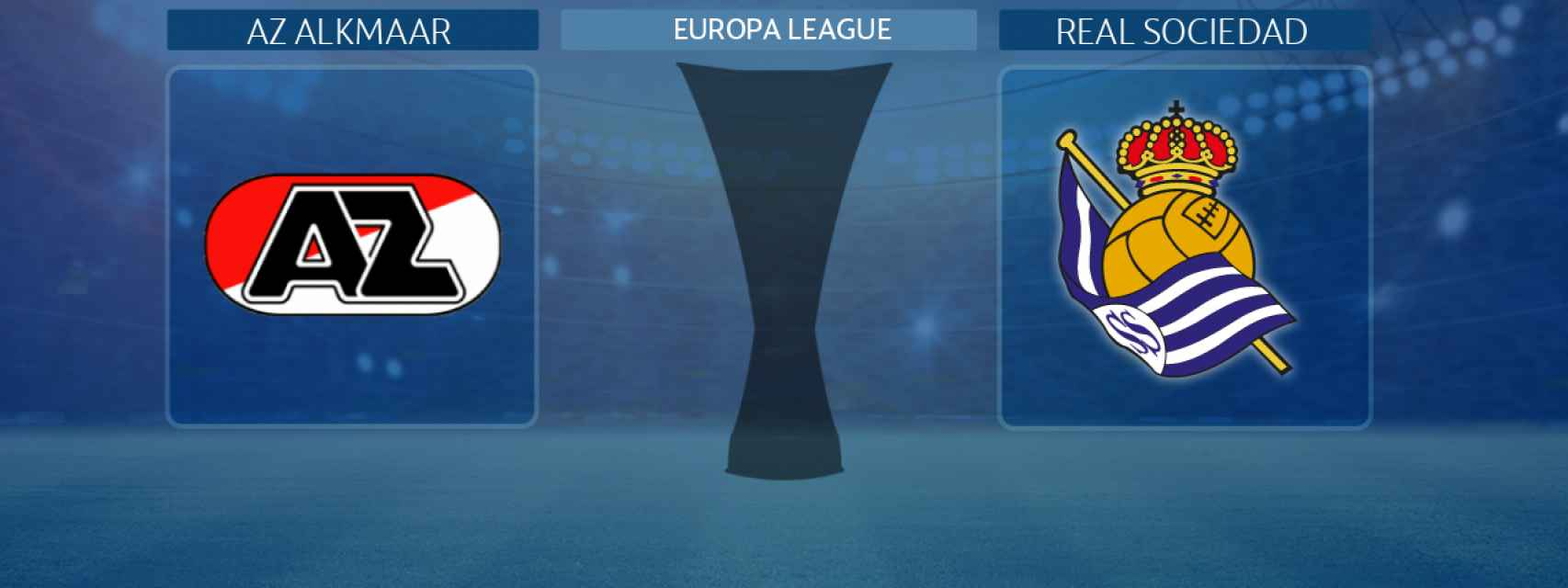 AZ Alkmaar - Real Sociedad:, partido de la Europa League