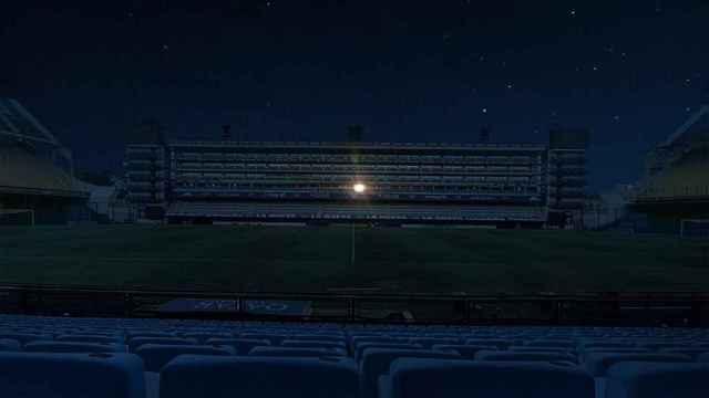 Las imágenes del mundo del deporte: la luz en el palco de Maradona en La Bombonera y otros homenajes a Diego