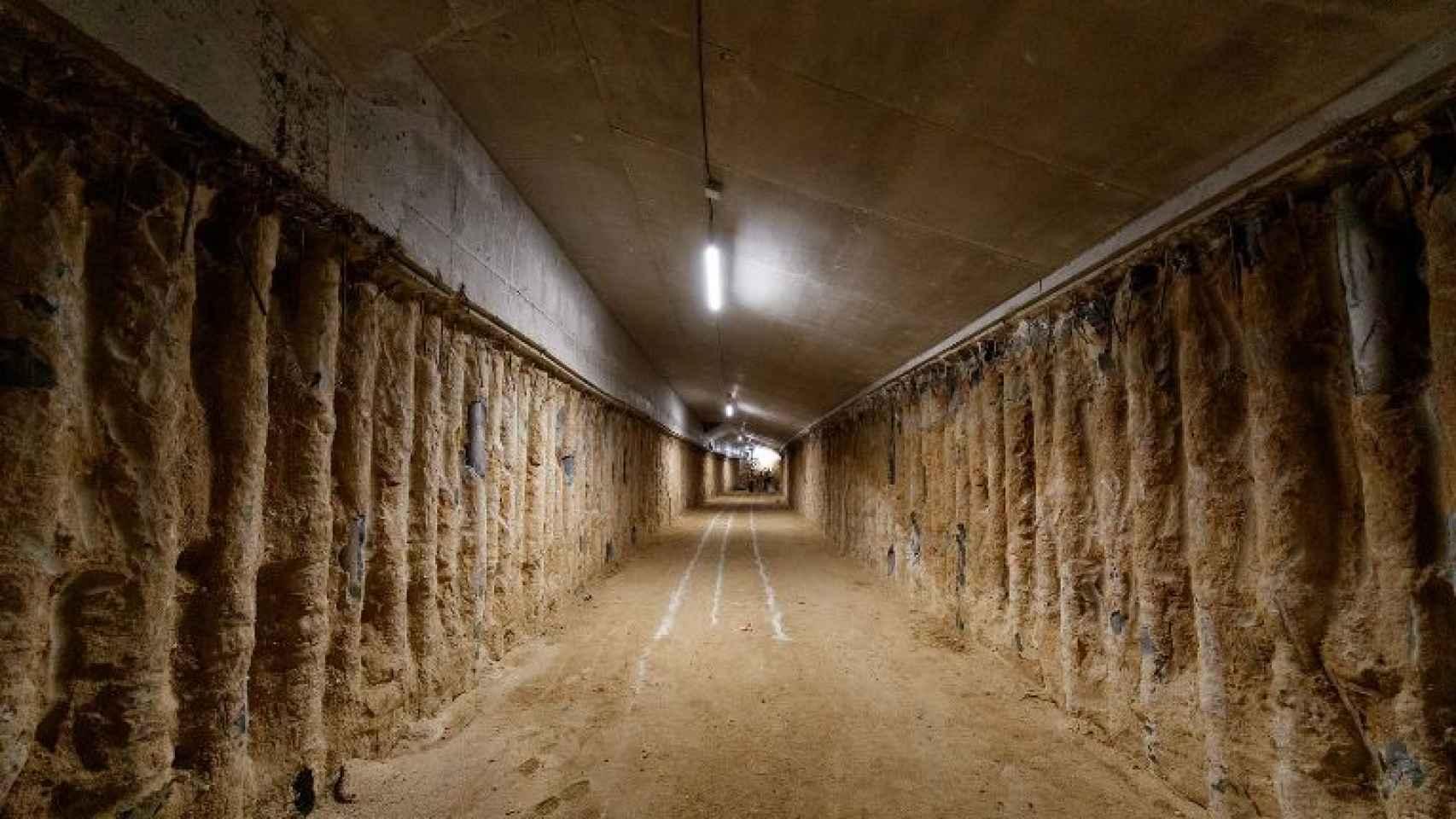 Los túneles del nuevo Santiago Bernabéu presentan una sensación de 'catacumbas'