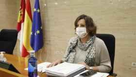 Patricia Franco, consejera de Economía y Empleo de Castilla-La Mancha, en una imagen de este miércoles