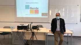 Julían Garde, candidato al Rectorado de la UCLM, en una foto de archivo