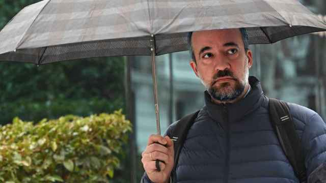 Francisco Martínez, el pasado 29 de octubre al ir a declarar a la Audiencia Nacional./