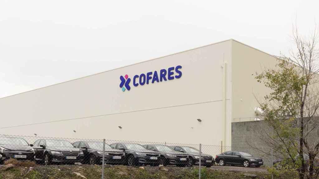 El centro de distribución de Cofares, en Vicálvaro (Madrid).