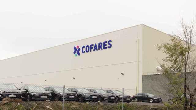 Centro de distribución de Cofares, en Vicálvaro (Madrid).