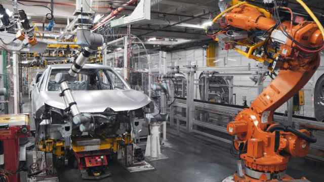 Imagen de una planta de montaje.