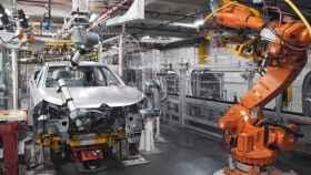 Una planta industrial dedicada a la automoción.