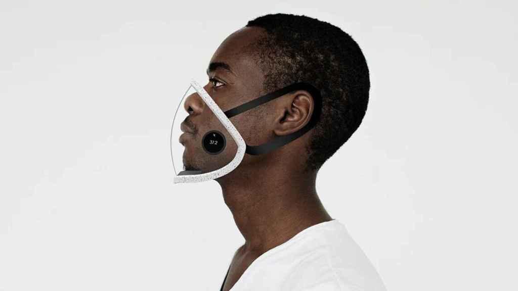 Esta mascarilla transparente además puede identificar los patógenos del aire