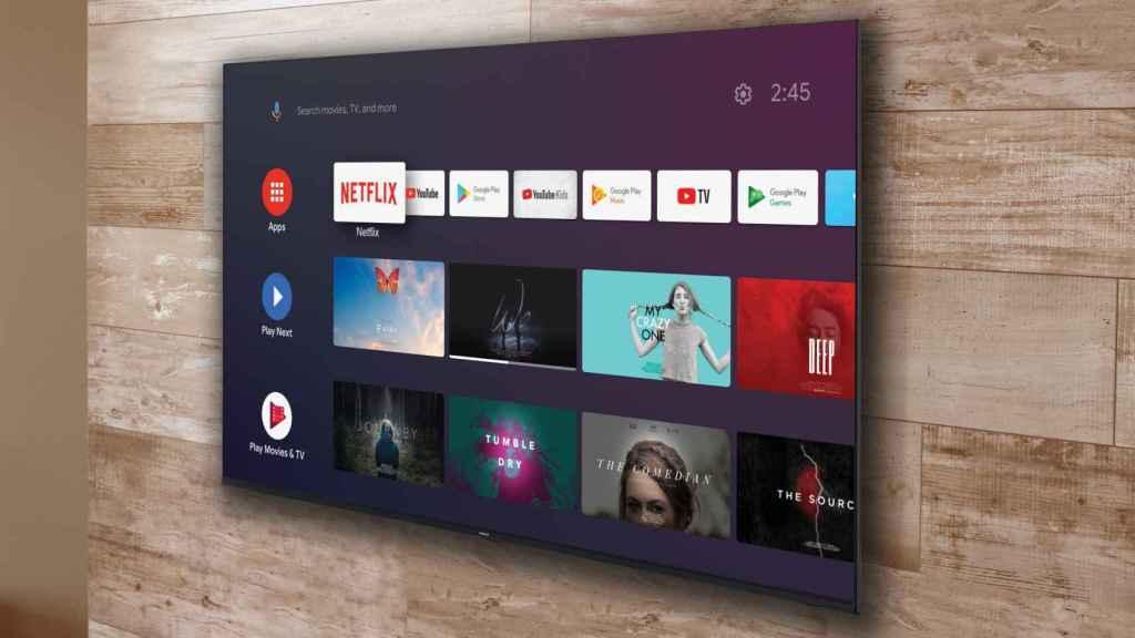 Uno de los nuevos televisores de Nokia