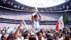 Maradona con el Mundial