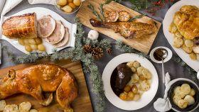 Los seis nuevos platos del menú de Navidad del 'Listo para comer' de Mercadona.